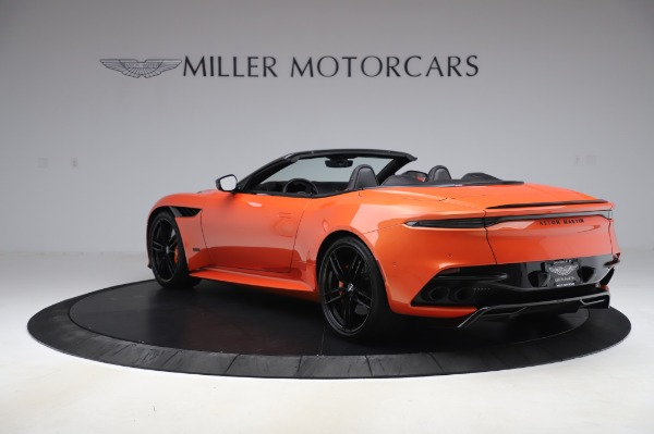 Used 2020 Aston Martin DBS Superleggera Volante for sale $339,800 at McLaren Greenwich in Greenwich CT 06830 4