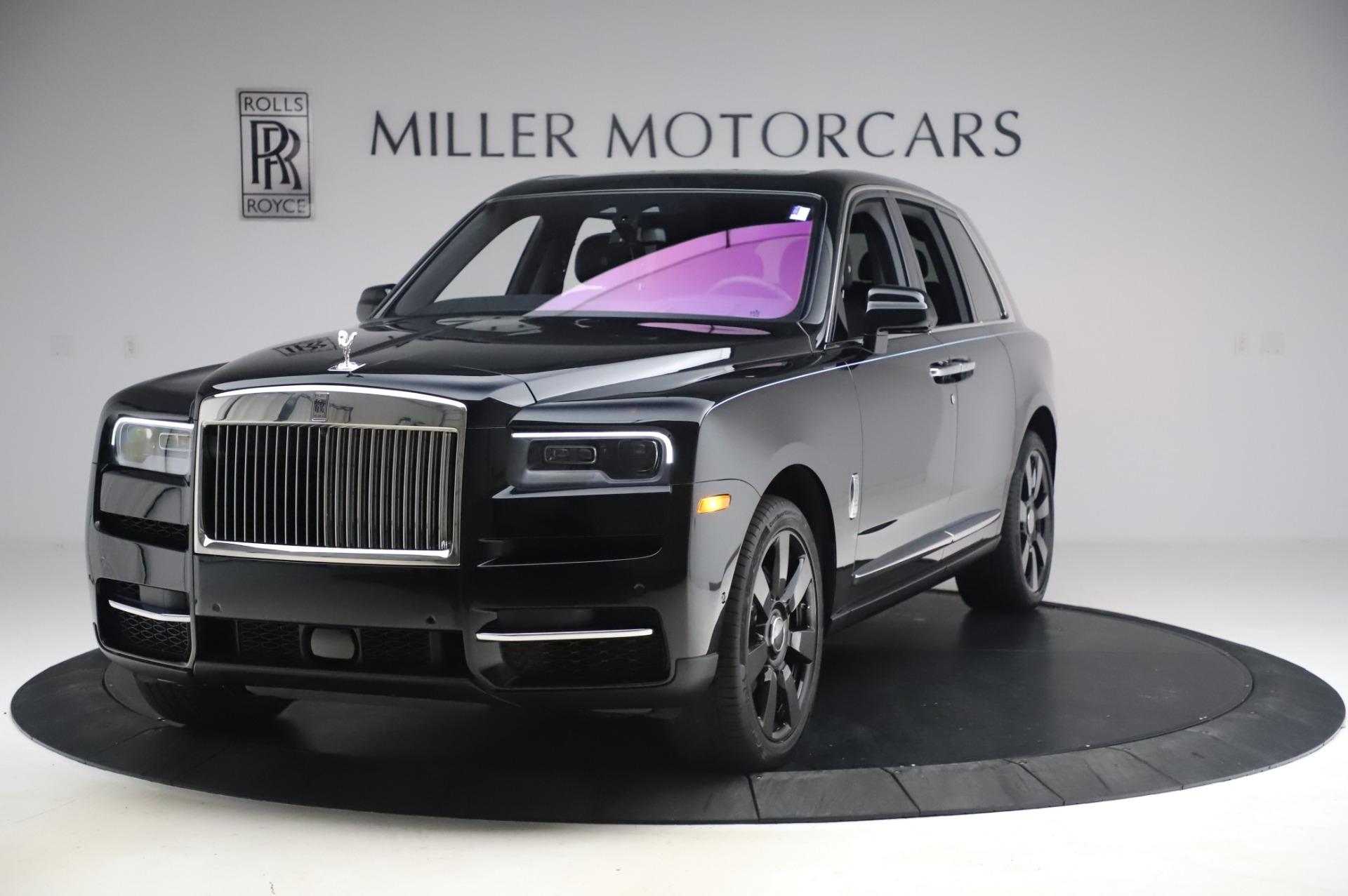 New 2021 Rolls-Royce Cullinan for sale $403,700 at McLaren Greenwich in Greenwich CT 06830 1
