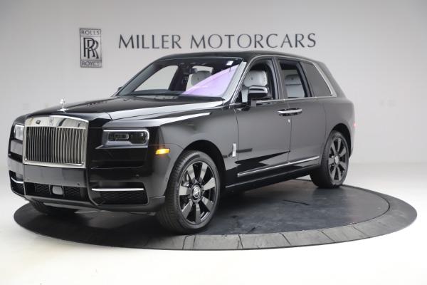 New 2021 Rolls-Royce Cullinan for sale $369,975 at McLaren Greenwich in Greenwich CT 06830 3