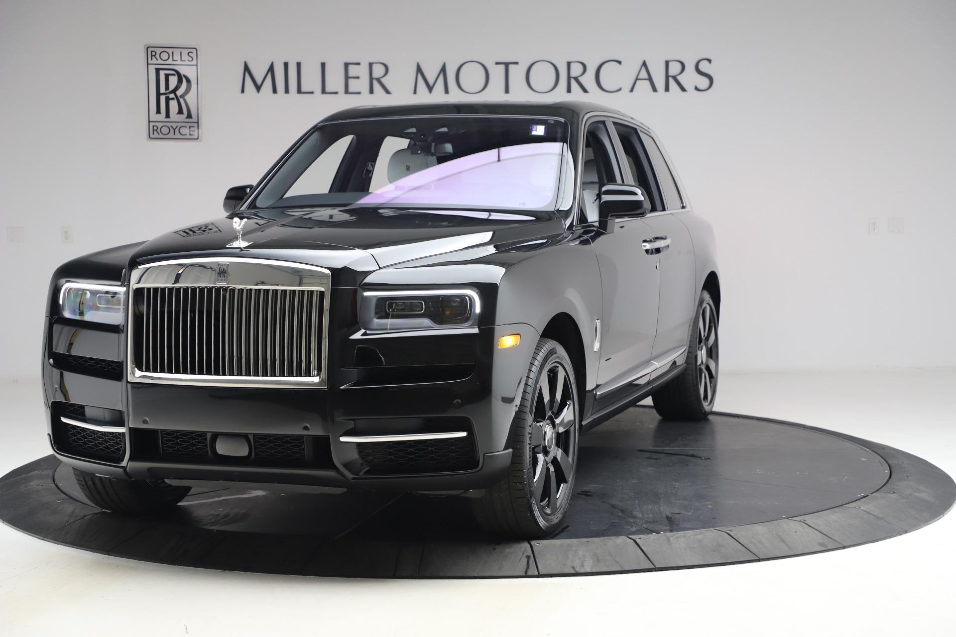 New 2021 Rolls-Royce Cullinan for sale $369,975 at McLaren Greenwich in Greenwich CT 06830 1