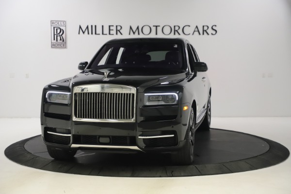 New 2021 Rolls-Royce Cullinan for sale $372,725 at McLaren Greenwich in Greenwich CT 06830 2