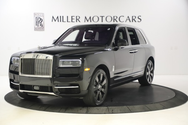 New 2021 Rolls-Royce Cullinan for sale $372,725 at McLaren Greenwich in Greenwich CT 06830 1