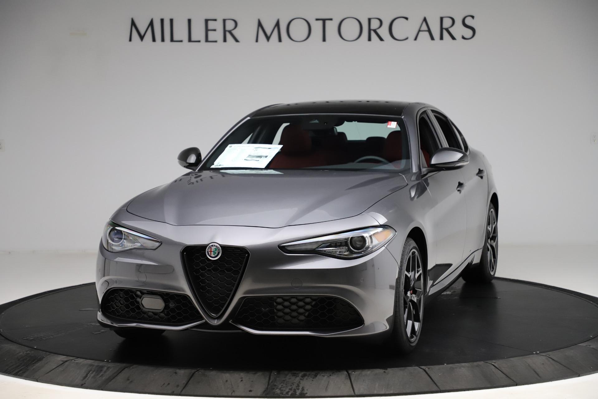 New 2020 Alfa Romeo Giulia Ti Sport Q4 for sale $53,595 at McLaren Greenwich in Greenwich CT 06830 1