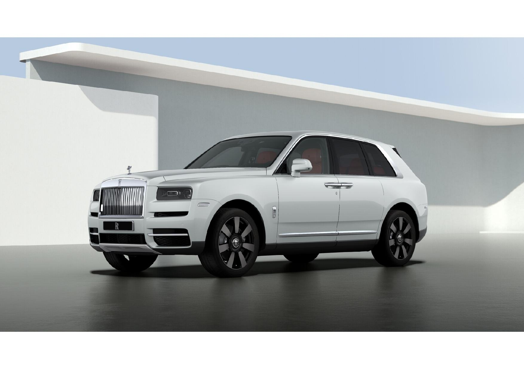 New 2021 Rolls-Royce Cullinan for sale $376,925 at McLaren Greenwich in Greenwich CT 06830 1