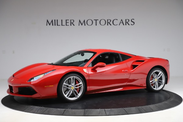 Used 2017 Ferrari 488 GTB for sale Call for price at McLaren Greenwich in Greenwich CT 06830 2