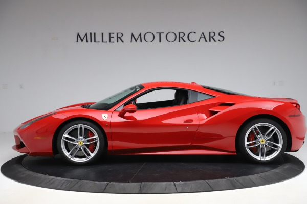 Used 2017 Ferrari 488 GTB for sale Call for price at McLaren Greenwich in Greenwich CT 06830 3