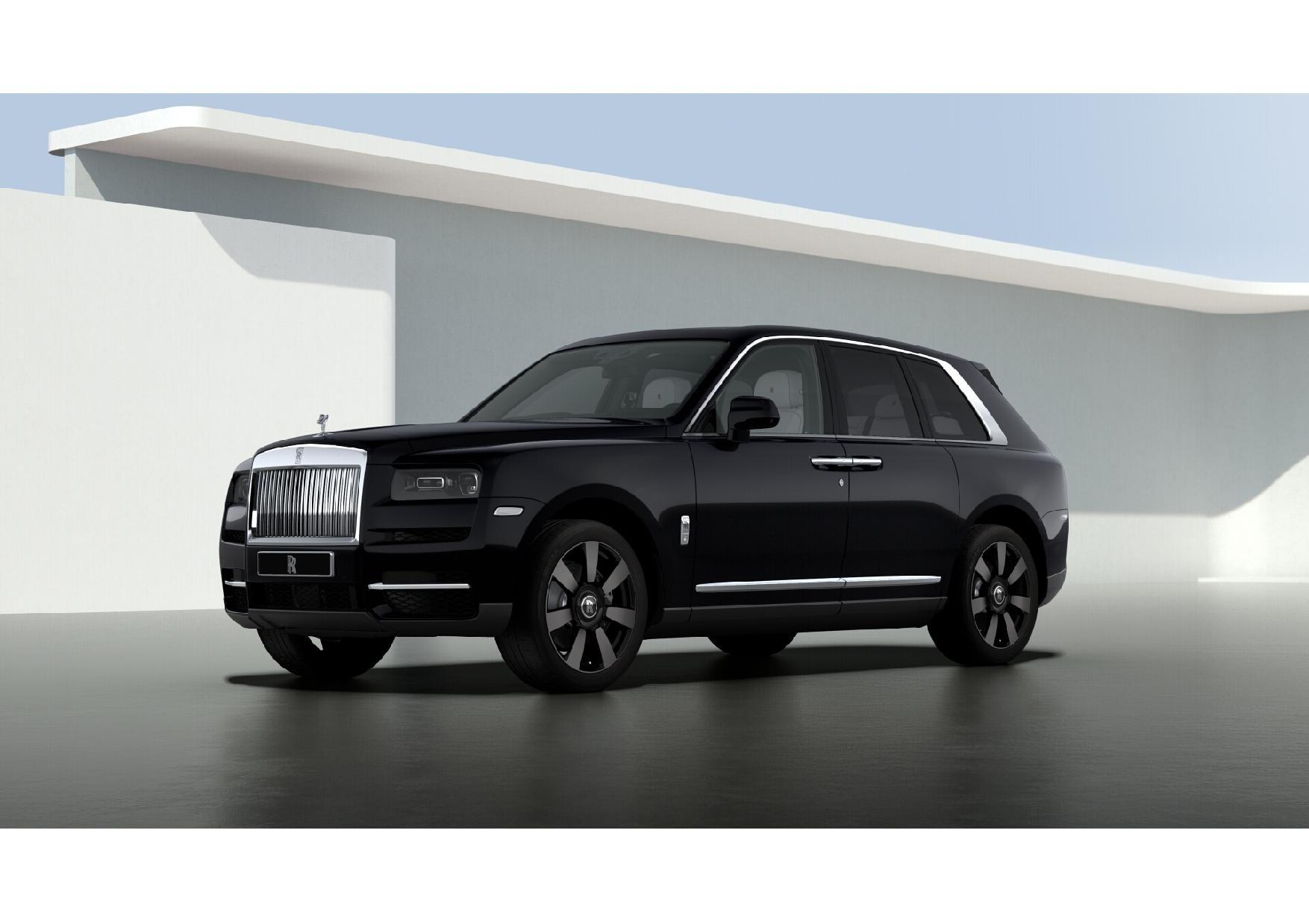 New 2021 Rolls-Royce Cullinan for sale $376,075 at McLaren Greenwich in Greenwich CT 06830 1