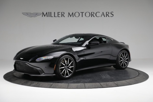 Used 2019 Aston Martin Vantage Coupe for sale $129,900 at McLaren Greenwich in Greenwich CT 06830 1