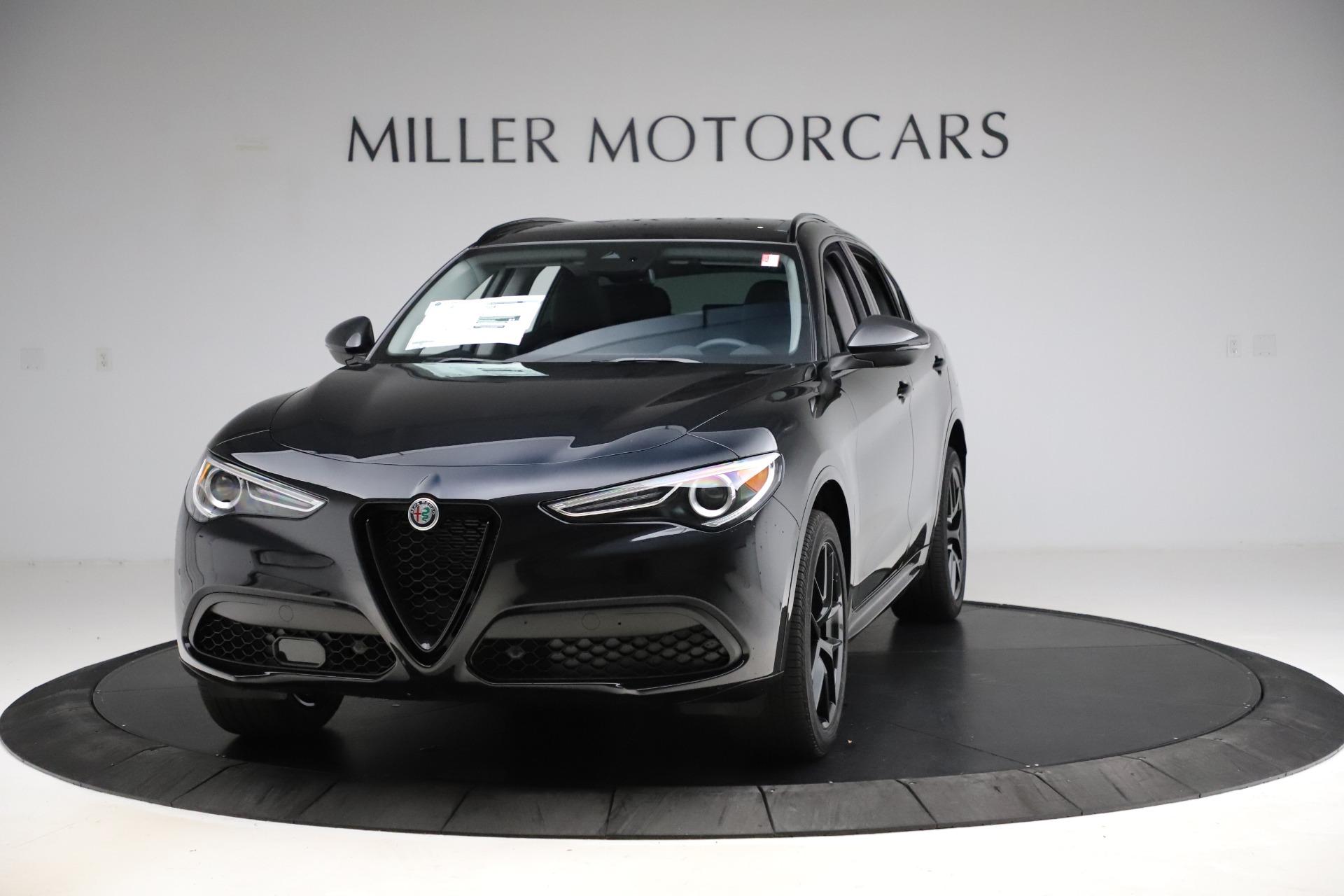 New 2020 Alfa Romeo Stelvio Ti Q4 for sale $52,445 at McLaren Greenwich in Greenwich CT 06830 1