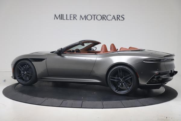 New 2020 Aston Martin DBS Superleggera Volante for sale $375,916 at McLaren Greenwich in Greenwich CT 06830 3