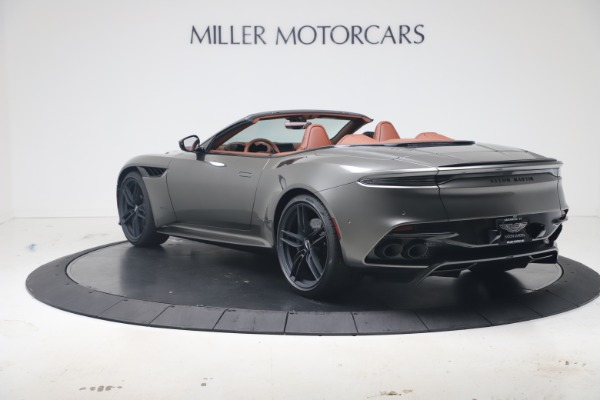 New 2020 Aston Martin DBS Superleggera Volante for sale Sold at McLaren Greenwich in Greenwich CT 06830 4
