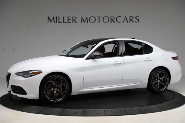 New 2020 Alfa Romeo Giulia Ti Sport Q4 for sale $52,395 at McLaren Greenwich in Greenwich CT 06830 2