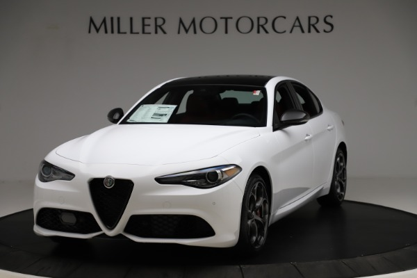 New 2020 Alfa Romeo Giulia Ti Sport Q4 for sale $52,395 at McLaren Greenwich in Greenwich CT 06830 1