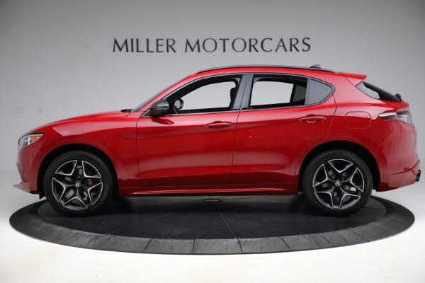 New 2020 Alfa Romeo Stelvio Ti Sport Carbon Q4 for sale $58,745 at McLaren Greenwich in Greenwich CT 06830 3