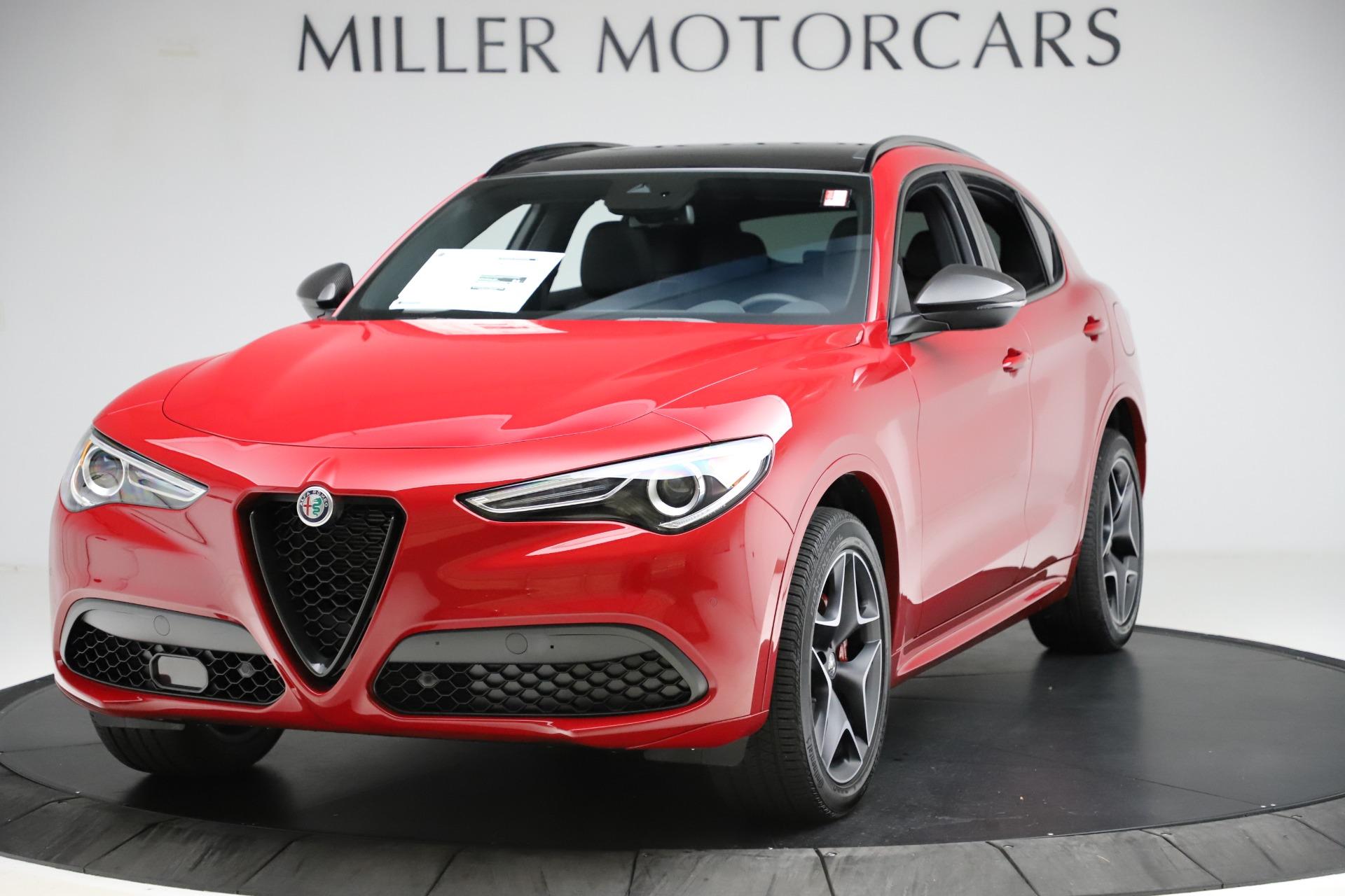 New 2020 Alfa Romeo Stelvio Ti Sport Carbon Q4 for sale $58,745 at McLaren Greenwich in Greenwich CT 06830 1