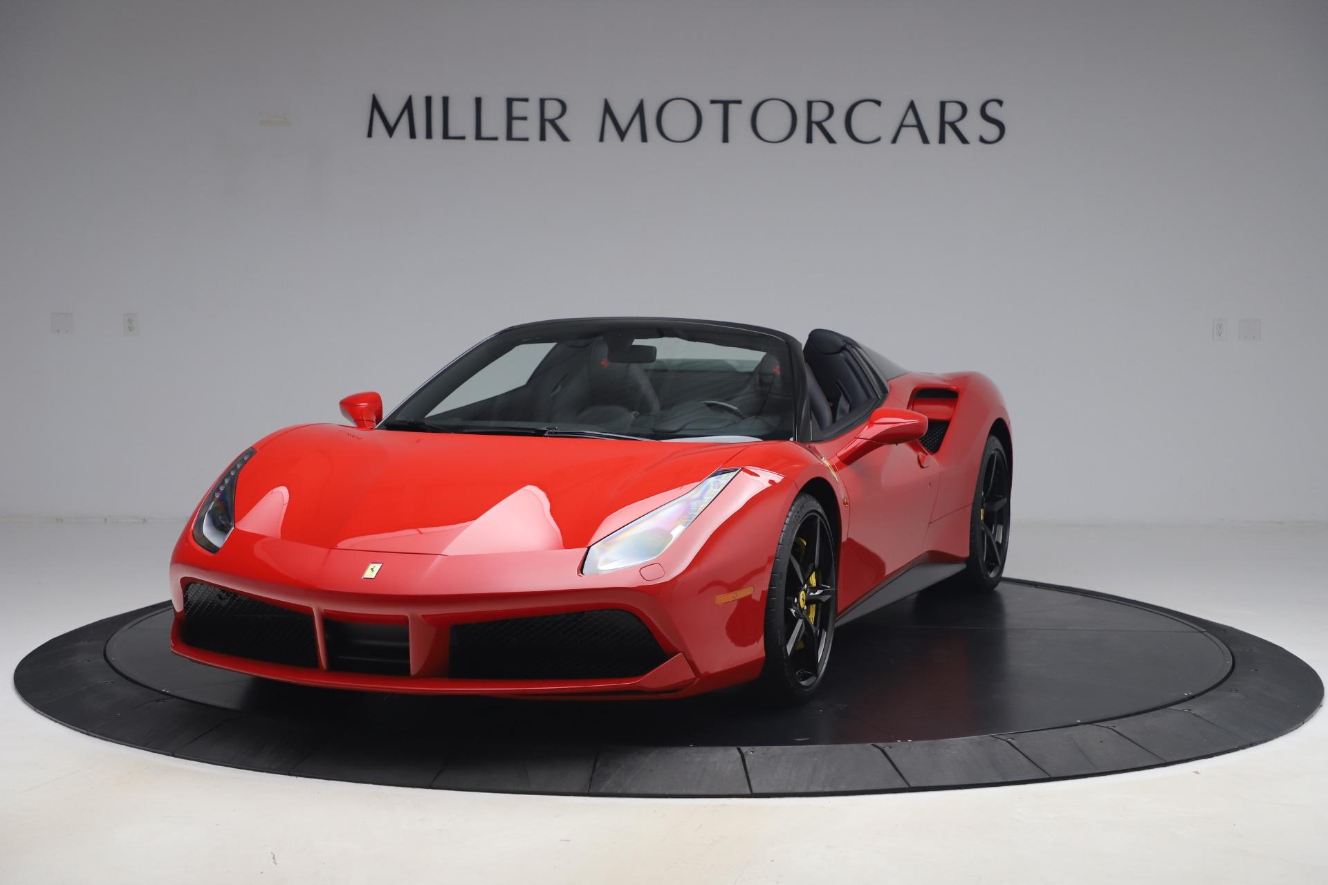 Used 2018 Ferrari 488 Spider for sale $286,900 at McLaren Greenwich in Greenwich CT 06830 1