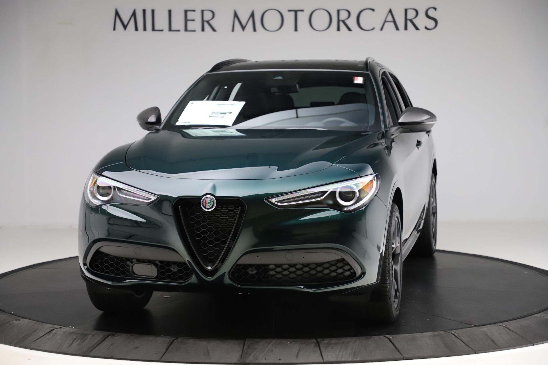 New 2020 Alfa Romeo Stelvio Ti Sport Carbon Q4 for sale Sold at McLaren Greenwich in Greenwich CT 06830 1