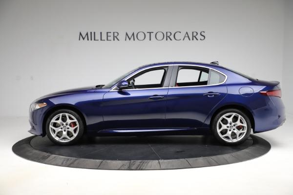 New 2020 Alfa Romeo Giulia Ti Q4 for sale Sold at McLaren Greenwich in Greenwich CT 06830 3