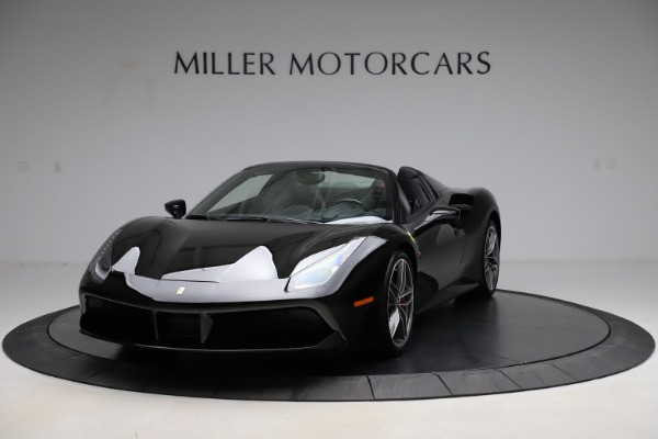 Used 2017 Ferrari 488 Spider for sale $276,900 at McLaren Greenwich in Greenwich CT 06830 1