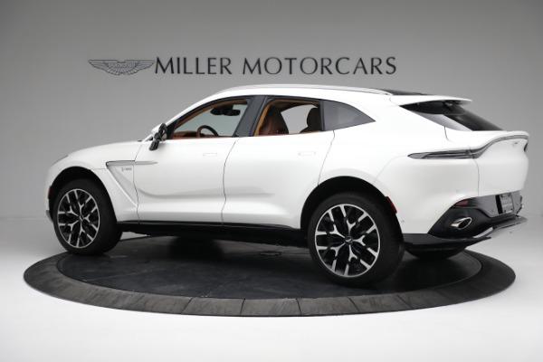 New 2021 Aston Martin DBX for sale $211,636 at McLaren Greenwich in Greenwich CT 06830 3