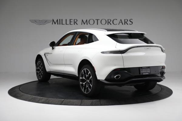 New 2021 Aston Martin DBX for sale $211,636 at McLaren Greenwich in Greenwich CT 06830 4