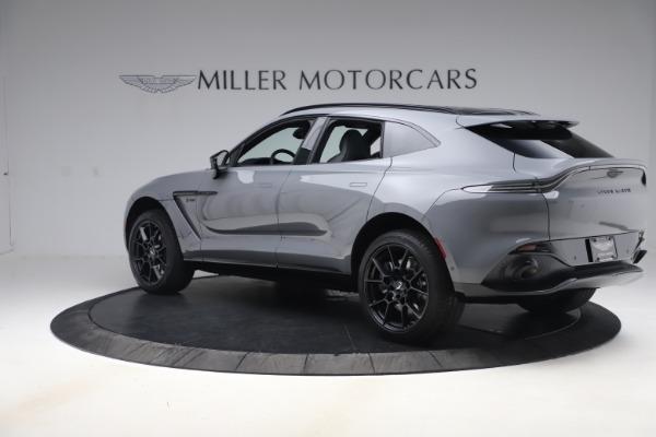 New 2021 Aston Martin DBX SUV for sale $194,486 at McLaren Greenwich in Greenwich CT 06830 3