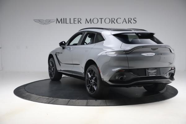 New 2021 Aston Martin DBX SUV for sale $194,486 at McLaren Greenwich in Greenwich CT 06830 4