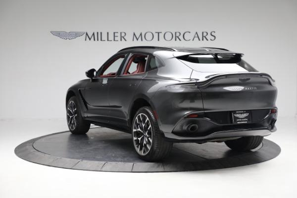 New 2021 Aston Martin DBX for sale $224,886 at McLaren Greenwich in Greenwich CT 06830 4