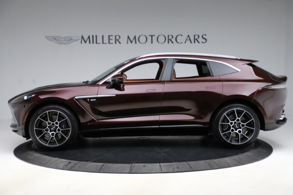 New 2021 Aston Martin DBX for sale $226,836 at McLaren Greenwich in Greenwich CT 06830 2