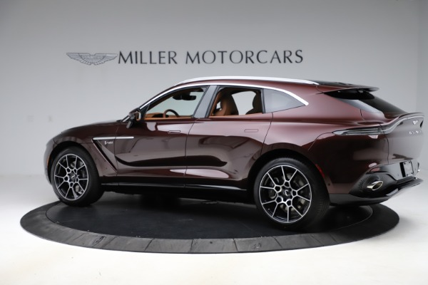 New 2021 Aston Martin DBX for sale $226,836 at McLaren Greenwich in Greenwich CT 06830 3