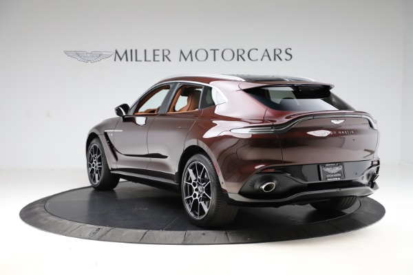 New 2021 Aston Martin DBX for sale $226,836 at McLaren Greenwich in Greenwich CT 06830 4