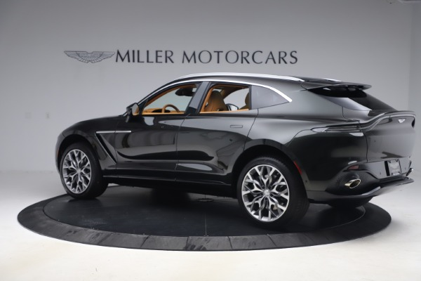 New 2021 Aston Martin DBX for sale $212,886 at McLaren Greenwich in Greenwich CT 06830 3