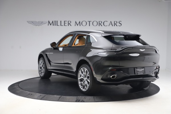 New 2021 Aston Martin DBX for sale $212,886 at McLaren Greenwich in Greenwich CT 06830 4