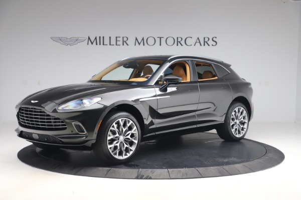 New 2021 Aston Martin DBX for sale $212,886 at McLaren Greenwich in Greenwich CT 06830 1