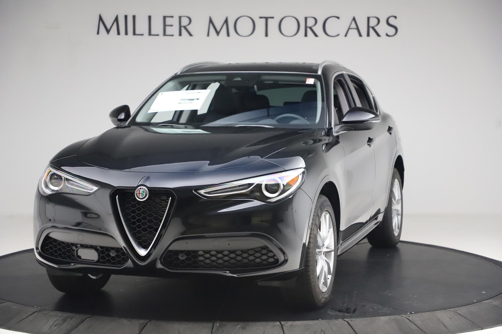 New 2020 Alfa Romeo Stelvio Ti Lusso Q4 for sale $52,695 at McLaren Greenwich in Greenwich CT 06830 1