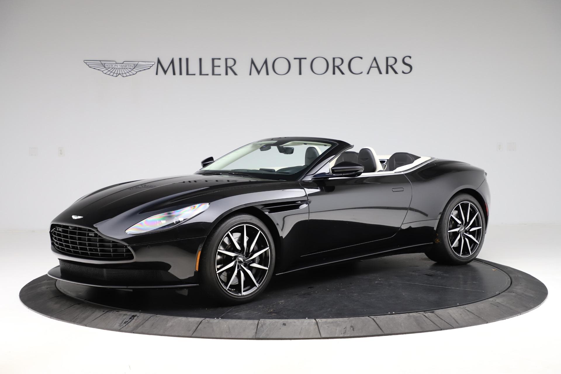 Used 2020 Aston Martin DB11 Volante for sale $209,900 at McLaren Greenwich in Greenwich CT 06830 1