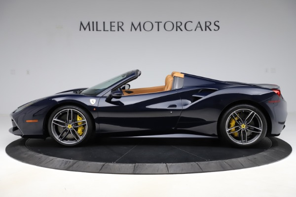 Used 2018 Ferrari 488 Spider for sale Call for price at McLaren Greenwich in Greenwich CT 06830 3