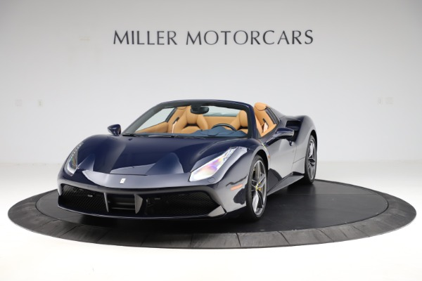 Used 2018 Ferrari 488 Spider for sale Call for price at McLaren Greenwich in Greenwich CT 06830 1