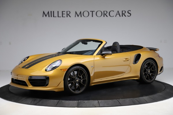 Used 2019 Porsche 911 Turbo S Exclusive for sale Sold at McLaren Greenwich in Greenwich CT 06830 2