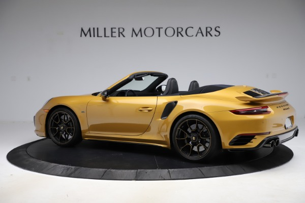 Used 2019 Porsche 911 Turbo S Exclusive for sale Sold at McLaren Greenwich in Greenwich CT 06830 4