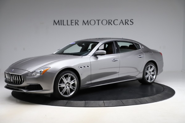 Used 2017 Maserati Quattroporte S Q4 GranLusso for sale $59,900 at McLaren Greenwich in Greenwich CT 06830 2