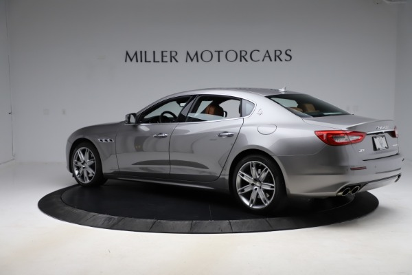 Used 2017 Maserati Quattroporte S Q4 GranLusso for sale $59,900 at McLaren Greenwich in Greenwich CT 06830 4