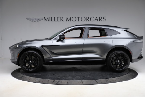 New 2021 Aston Martin DBX SUV for sale $229,486 at McLaren Greenwich in Greenwich CT 06830 2