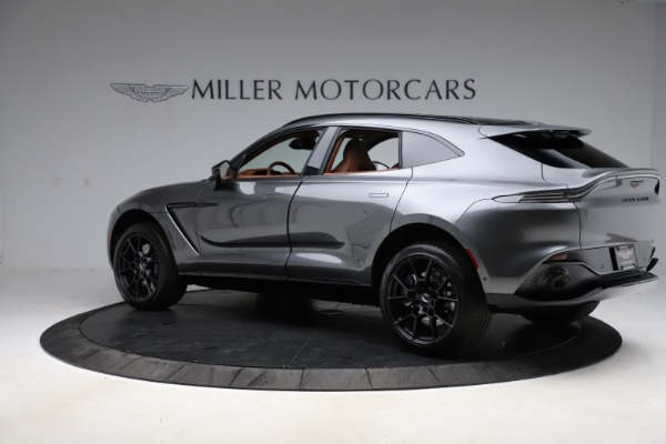 New 2021 Aston Martin DBX SUV for sale $229,486 at McLaren Greenwich in Greenwich CT 06830 3