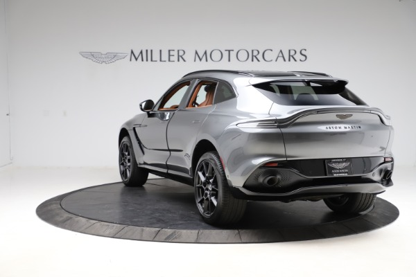 New 2021 Aston Martin DBX SUV for sale $229,486 at McLaren Greenwich in Greenwich CT 06830 4