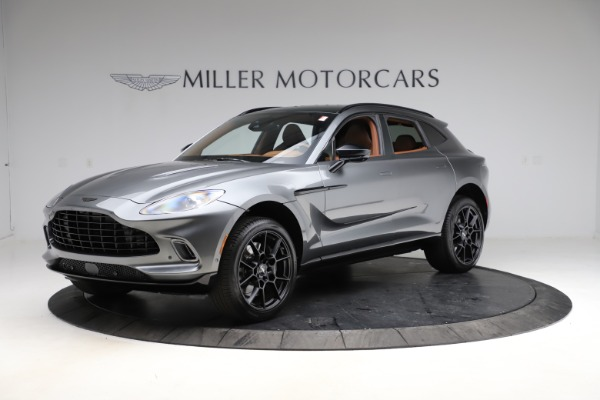 New 2021 Aston Martin DBX for sale $229,486 at McLaren Greenwich in Greenwich CT 06830 1