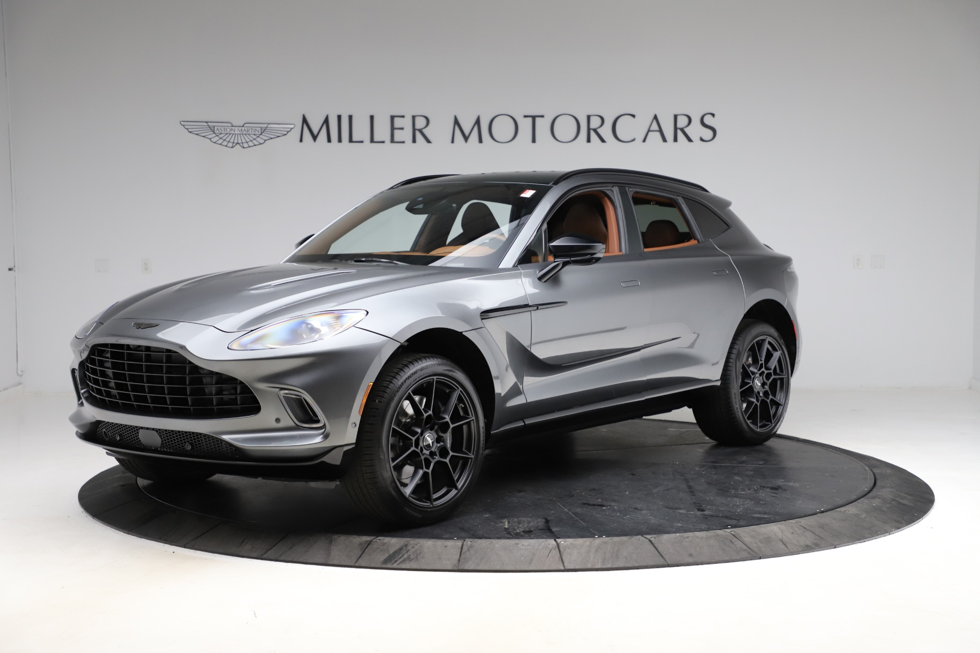 New 2021 Aston Martin DBX SUV for sale $229,486 at McLaren Greenwich in Greenwich CT 06830 1