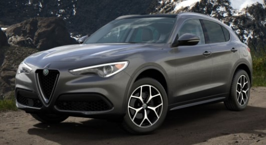 New 2020 Alfa Romeo Stelvio Ti Q4 for sale $49,695 at McLaren Greenwich in Greenwich CT 06830 1