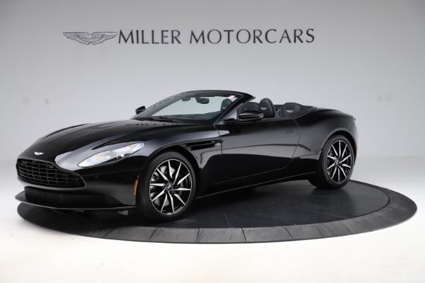 New 2021 Aston Martin DB11 Volante for sale $254,416 at McLaren Greenwich in Greenwich CT 06830 1