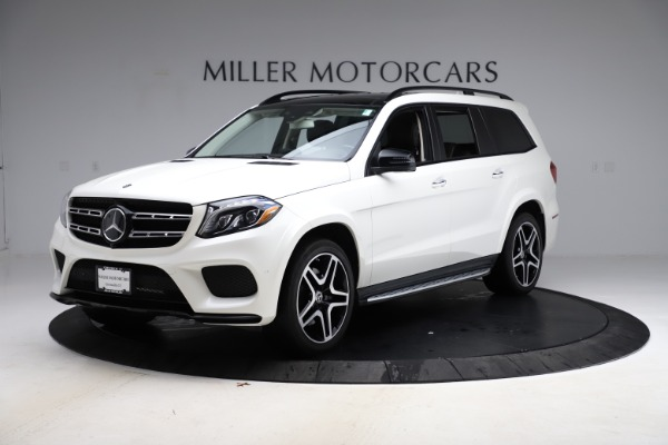 Used 2018 Mercedes-Benz GLS 550 for sale Sold at McLaren Greenwich in Greenwich CT 06830 2